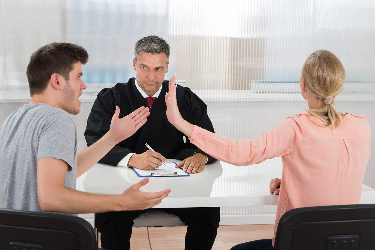 решение споров возникающих между супругами